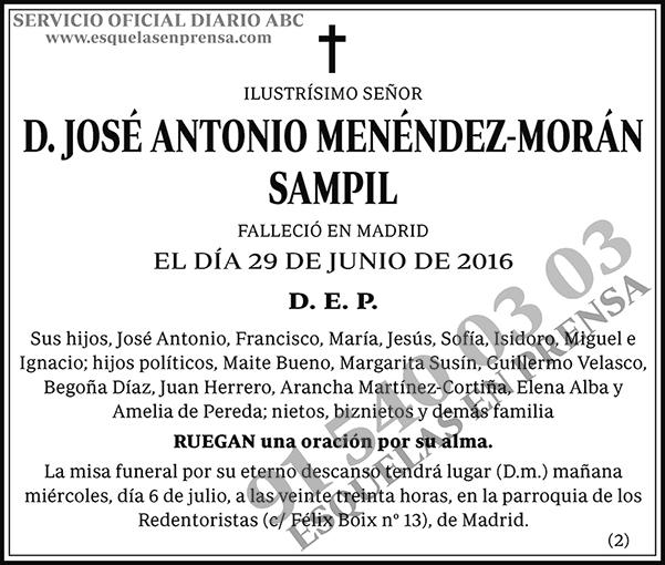 José Antonio Menéndez-Morán Sampil